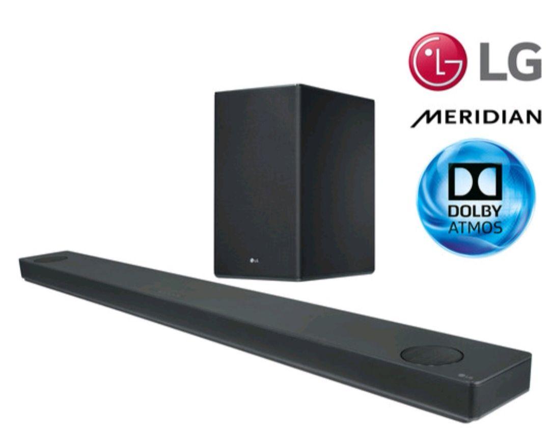 LG SK10Y Dolby Atmos Soundbar + Drahtlosem Subwoofer