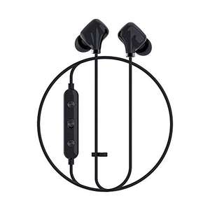 Happy Plugs - Ear Piece II In-Ear Kopfhörer - Wireless Bluetooth mit Inline Fernbedienung und Mikrofon One Size Schwarz
