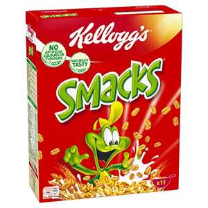 Kellogg Smacks, 4er Pack (4 x 330 g) [Amazon.de]