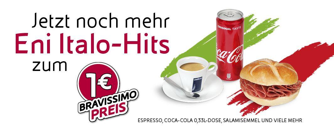 1€ Sommerpromotion bei Eni