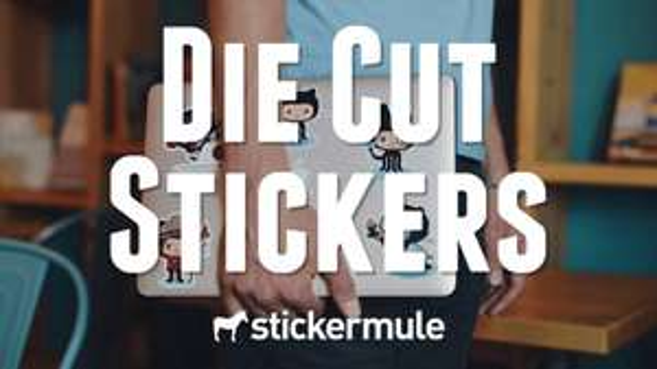 [Stickermule] 50 Die Cut Stickers + 10 Die Cut Stickers für 2,91€ + kostenloser Versand