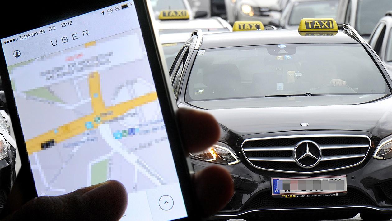 UBER Taxi - ab sofort (25.7) in ganz Österreich eingestellt