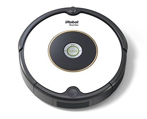 iRobot Roomba 605 (reinigt alle Hartböden und Teppiche, Dirt Detect Technologie, 3-Stufen-Reinigungssystem)