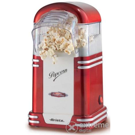 Ariete 2954 Party Time Popcorn Maker (ohne Öl, 60g Maiskörner, Ein/Ausschalter, 1100W)