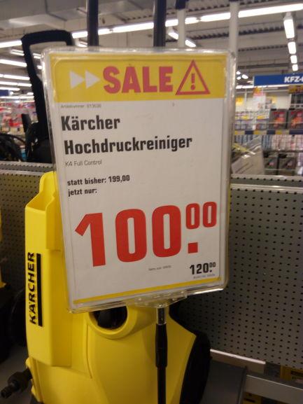 (nur Lokal) Kärcher K4
