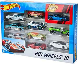 Hot Wheels 10-Car Set
