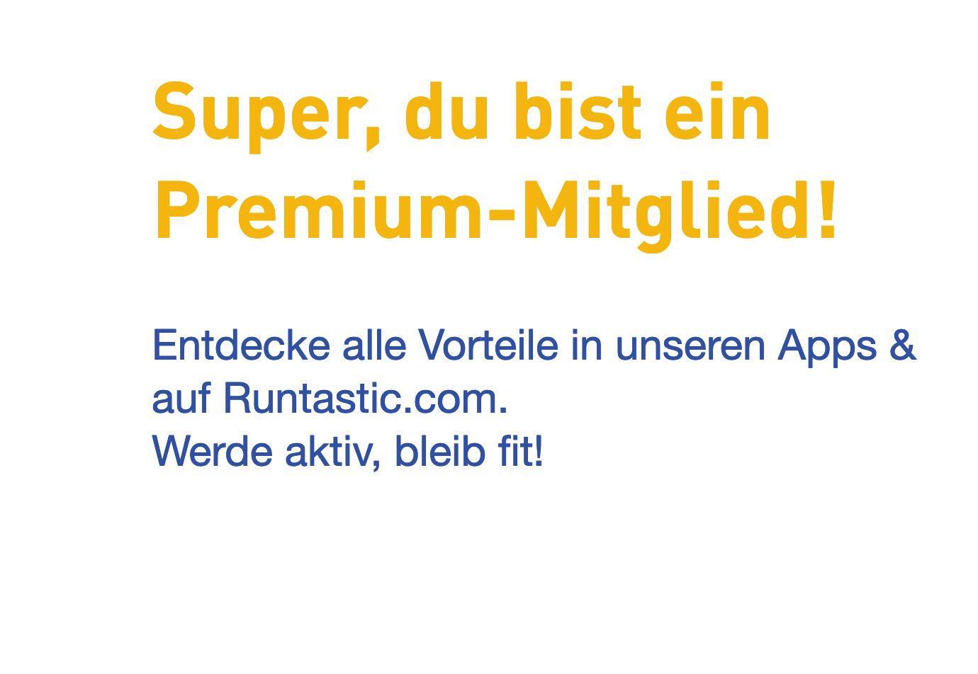 Runtastic  Premium 3 Monate GRATIS