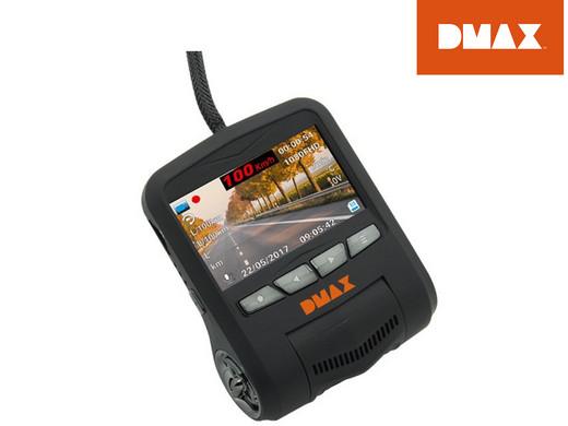 DMAX FHD-Dashcam mit Fahrzeugdatenübertragung (OBD)