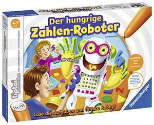 Ravensburger tiptoi : Der hungrige Zahlen-Roboter (00706)