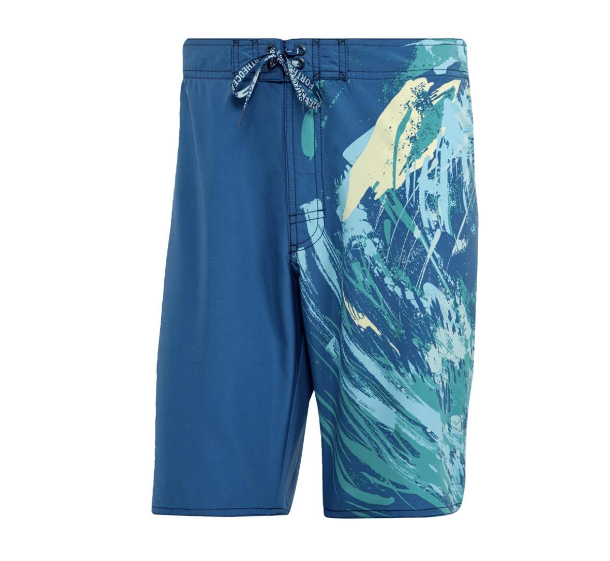 adidas Badehose Parley Classic Short petrol/blau