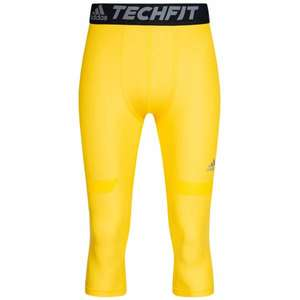 Adidas TechFit Chill Herren 3/4 Tights