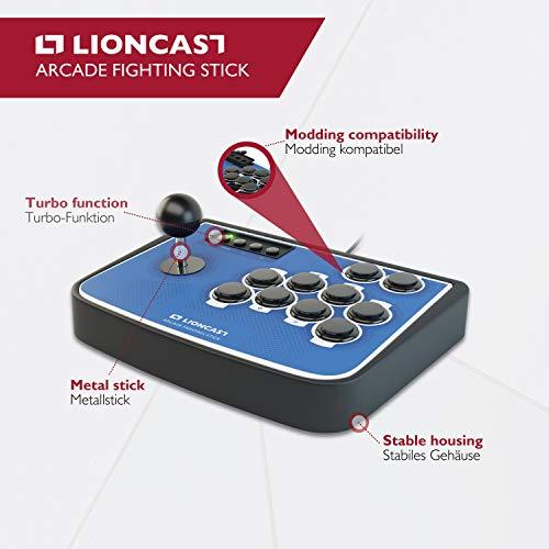 Lioncast Arcade Fight-Stick für PS4, PC und Nintendo Switch