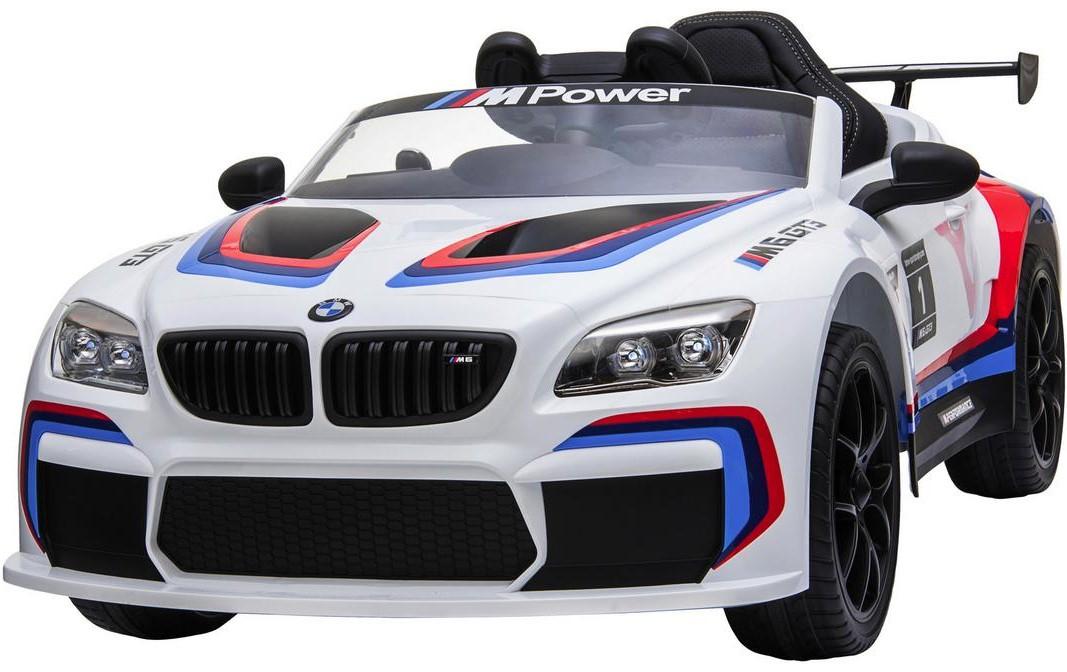 Kinderfahrzeug BMW M6 GT3, weiss