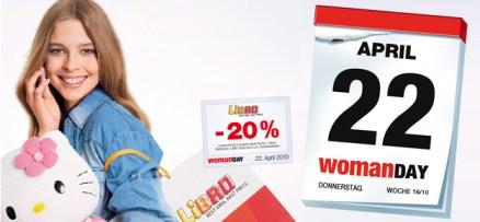 Woman Day 2010 am 22. April mit Gutscheinen für 22 Geschäfte! PS3 Slim für 240€ u.v.m.