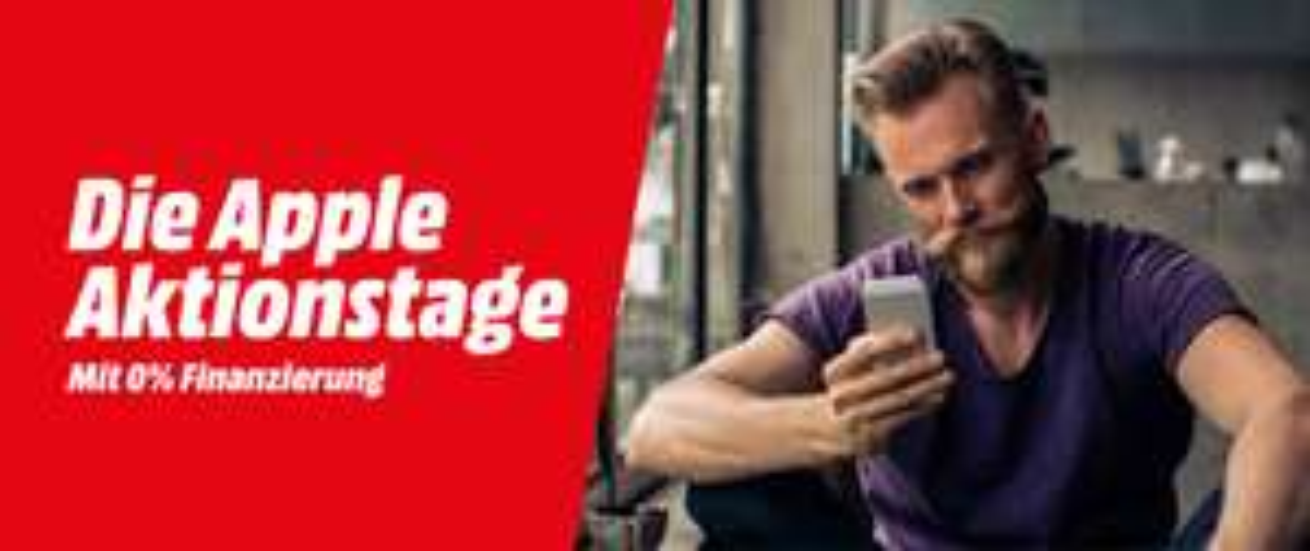 Media Markt Apple Aktionstage - zB iPhone X um 799 €