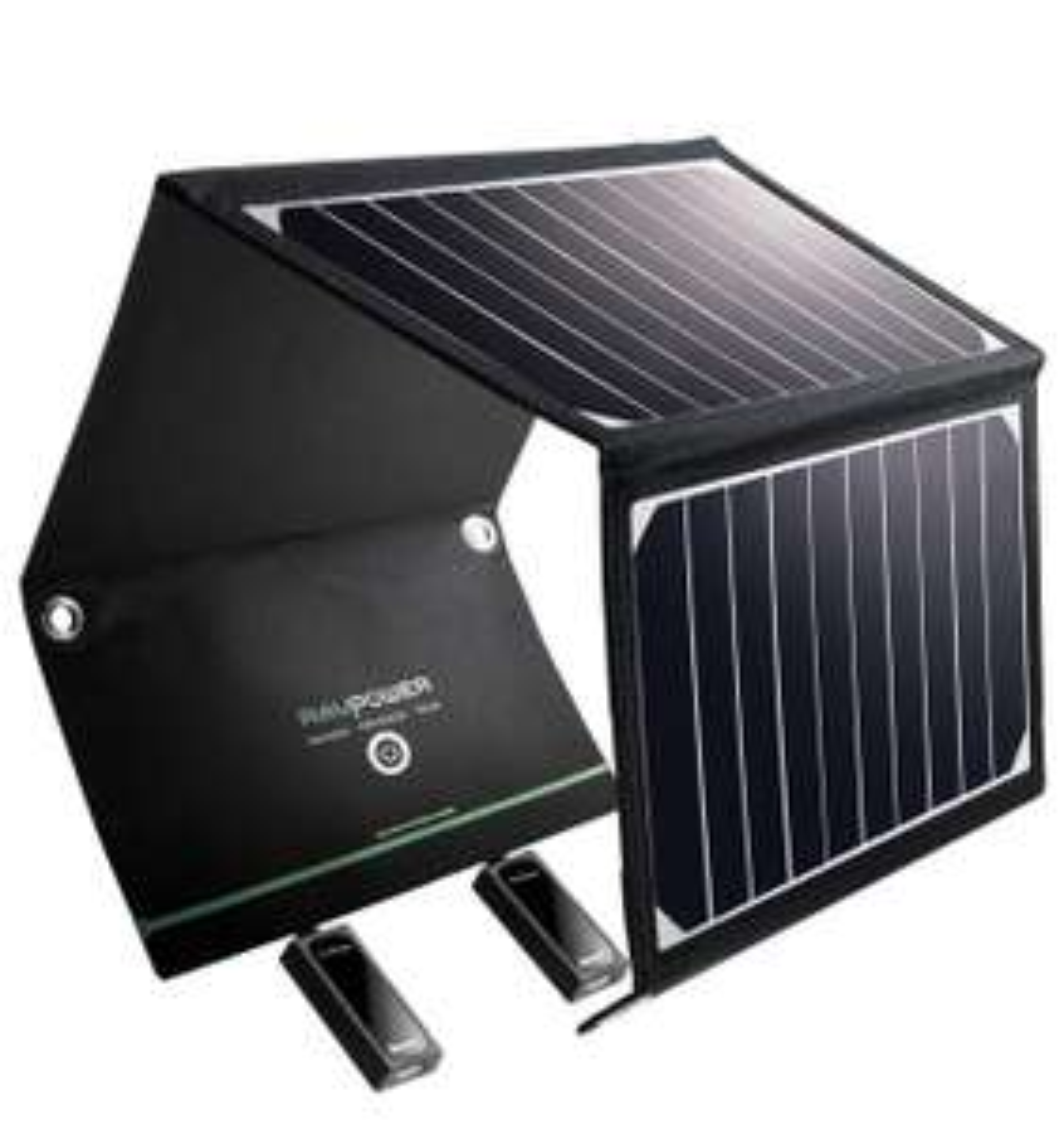 RAVPower 16W, 2 Port USB Solarladegerät