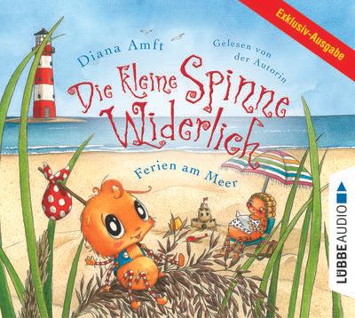 """Kostenloses Hörbuch """"Die kleine Spinne Widerlich - Ferien am Meer"""""""