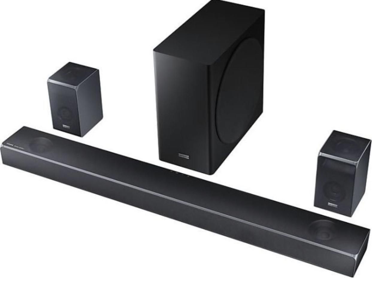 SAMSUNG SOUNDBAR HW-Q90R 7.1.4 DOLBY ATMOS, HARMAN/KARDON TECHNOLOGIE