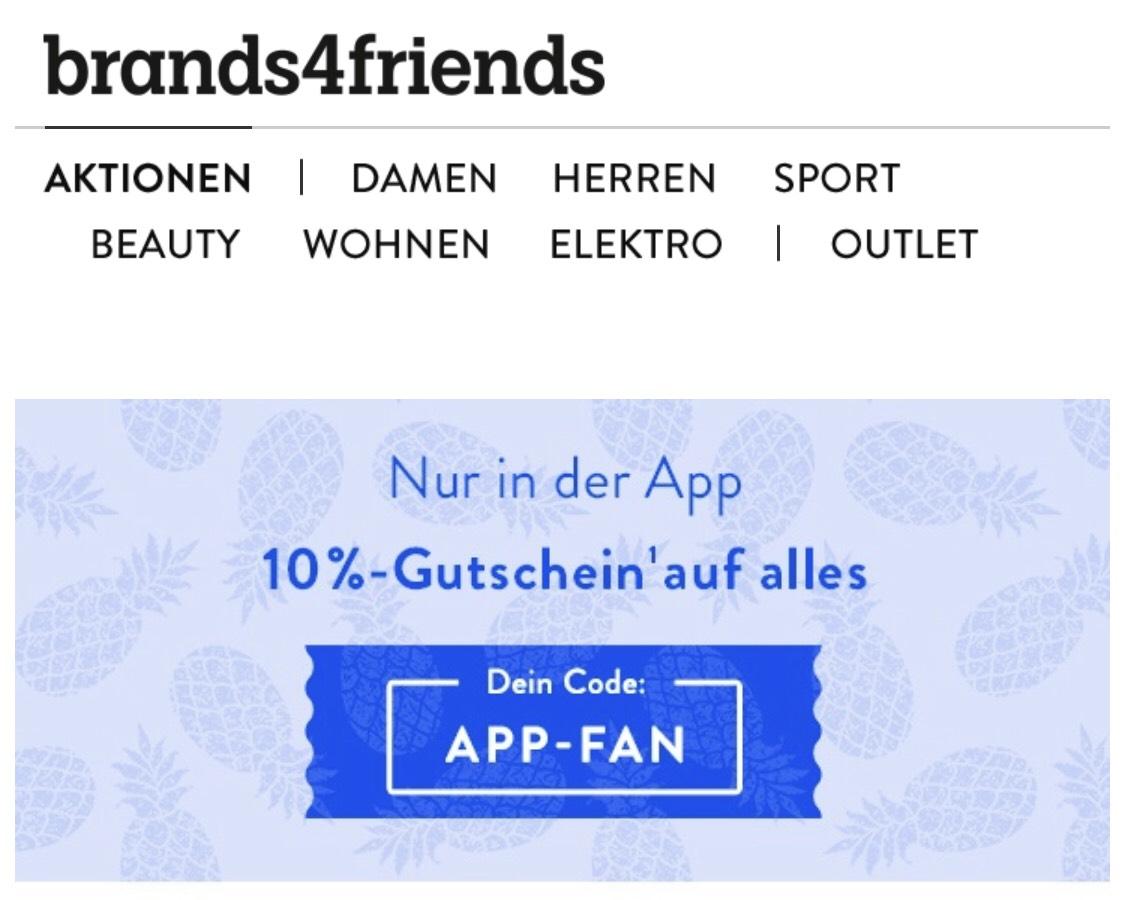Brands4Friends Gutschein -10 %