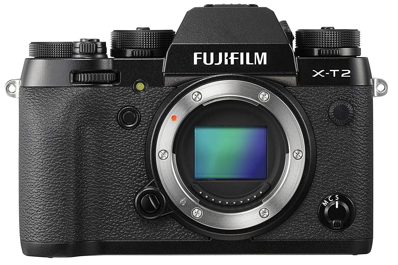 Fujifilm X-T2 DSLM Gehäuse (spiegellos, 24.3MP, APS-C Sensor) (Vergleichspreis: UK eBay Händler)