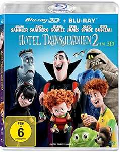 Hotel Transsilvanien 2 (3D Blu-ray)