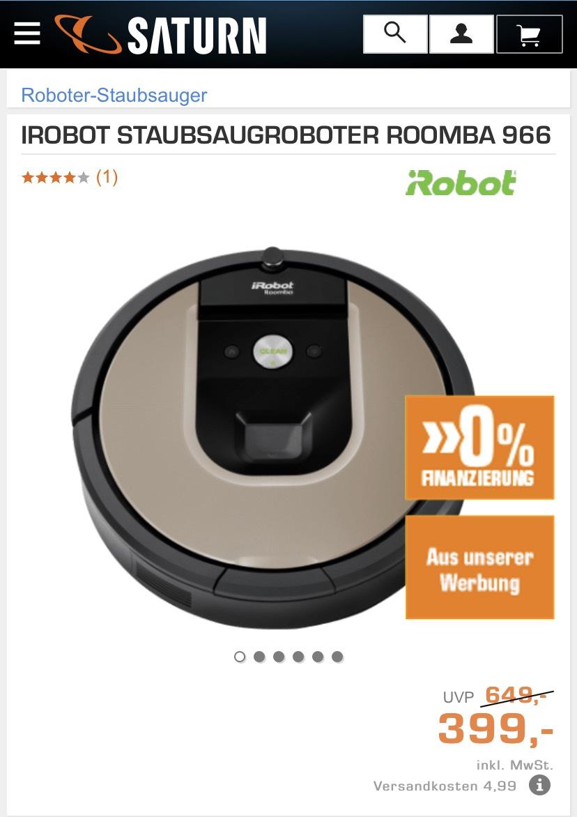 IROBOT STAUBSAUGROBOTER ROOMBA 966