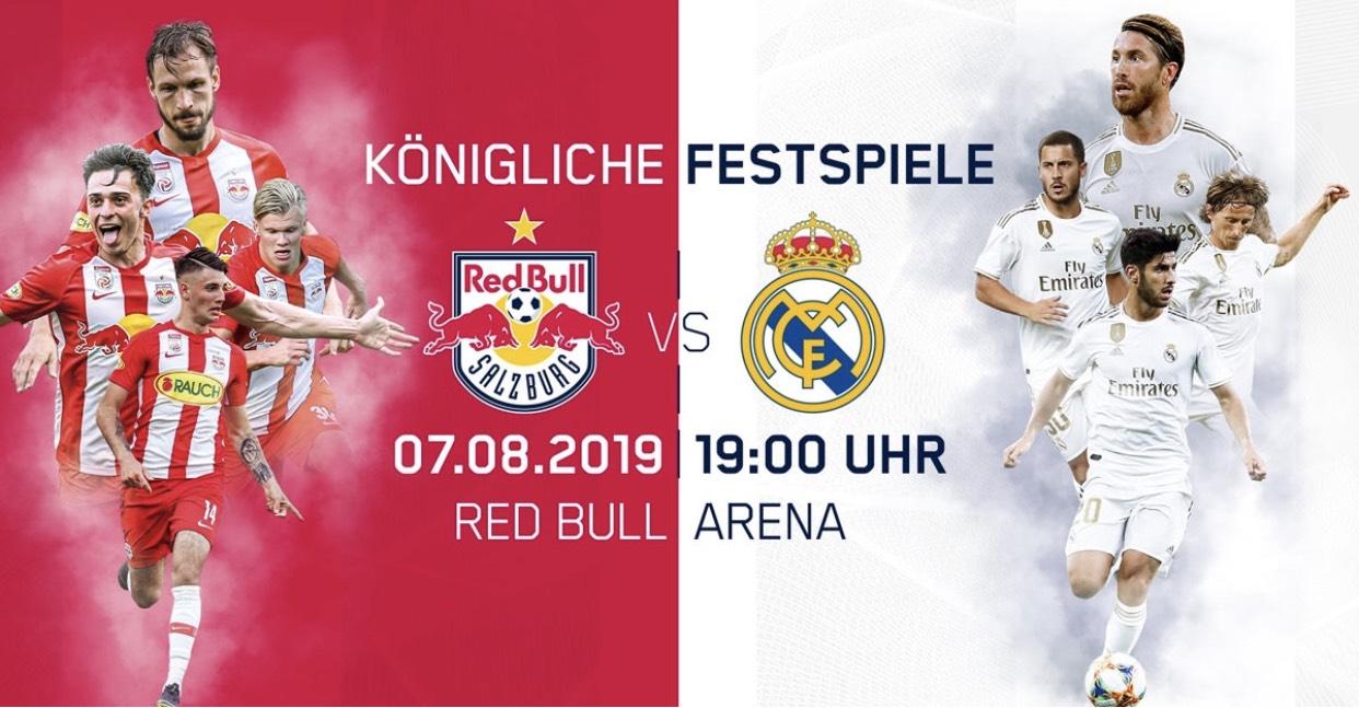 Red Salzburg vs. Real Madrid frei Empfangbar auf Sky Sport Austria HD
