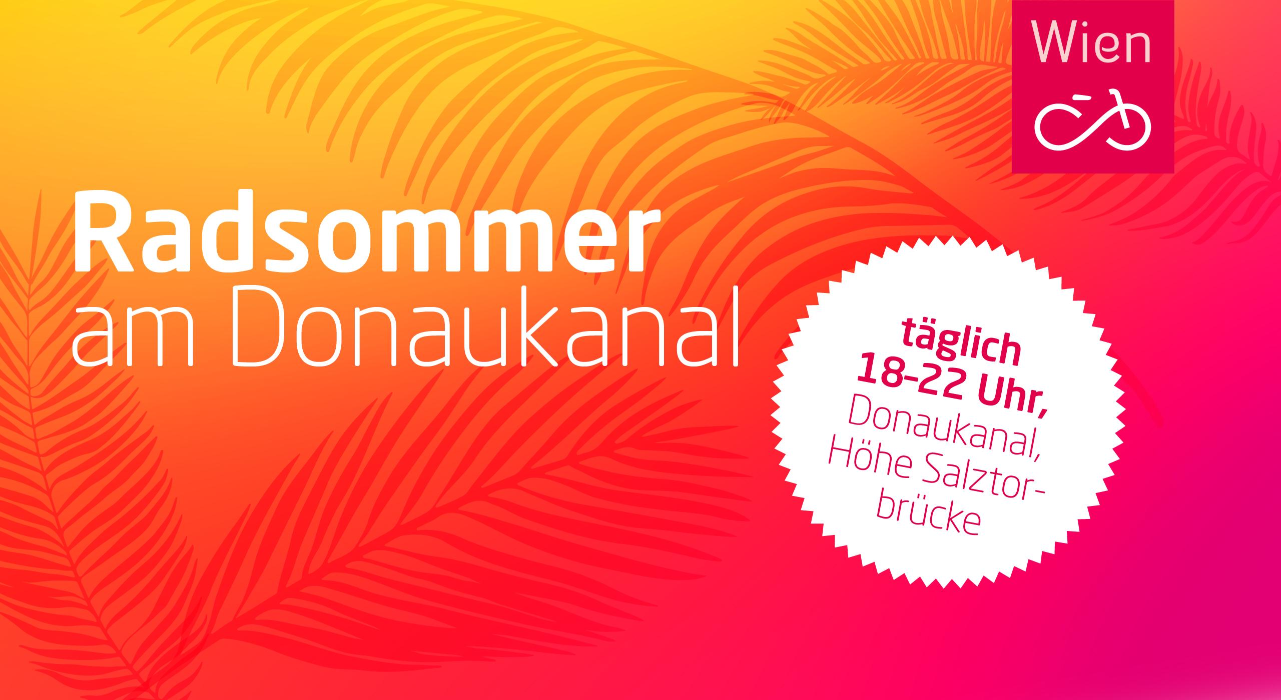 Gratis Radservice am Donaukanal Montags + Mittwochs 18-22 Uhr