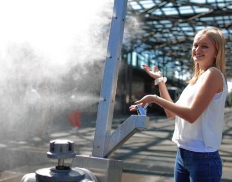 (WIen) Sommerspritzer - kostenlose Sprüh-Nebel-Duschen
