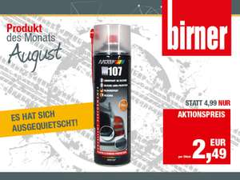 MOTIP Silikon-Spray bei Birner