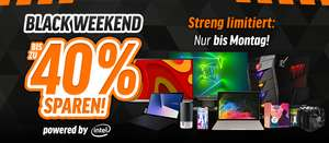 Bis zu -40%: Black Weekend Week bei notebooksbilliger.de