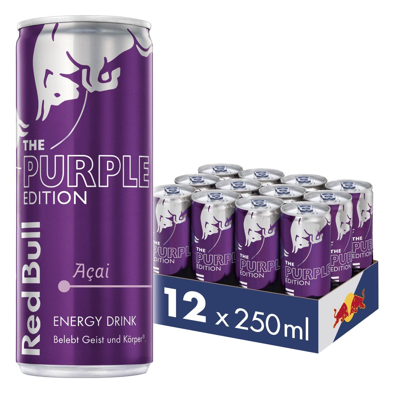 Red Bull Purple Edition/Acai (12x) zum guten Preis (92ct) - in Ö schwer erhältlich!