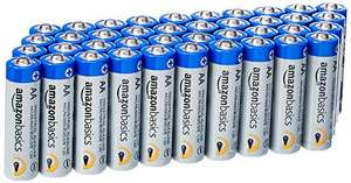 Amazon.de l 20% Rabatt für Prime-Kunden AmazonBasics AAA Industrie Alkalibatterien, 40er Pack