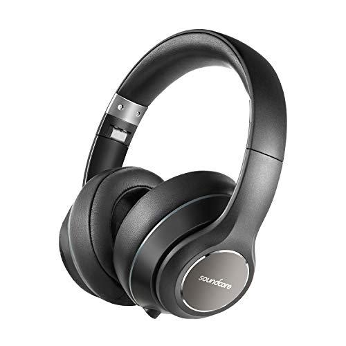 Soundcore Vortex Bluetooth Kopfhörer von Anker, Kabellose Over-Ear Kopfhörer, mit starker 20 Stunden Akkulaufzeit, Bluetooth 4.1