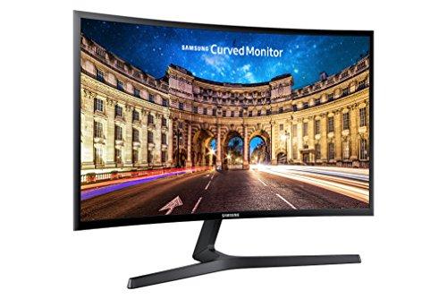 Samsung C27F396F 68,6 cm (27 Zoll) Monitor (VGA, HDMI, 4ms Reaktionszeit, 1920 x 1080 Pixel)