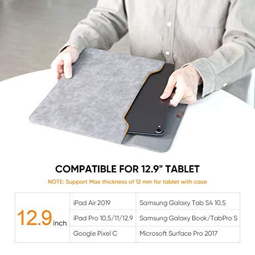 Ugreen Tasche für 12,9 Zoll Tablets (245x330mm, wasserdicht, Kunstleder)