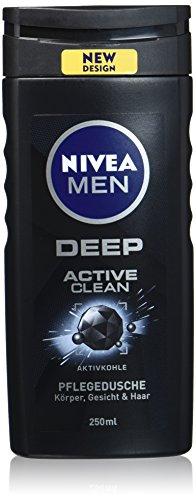 6x Nivea Men Deep Active Clean Pflegedusche