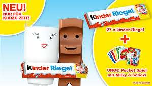 [Bipa] XXL Kinderriegel - 567g Packung (27 x 21g) inkl. Uno (lokal?)