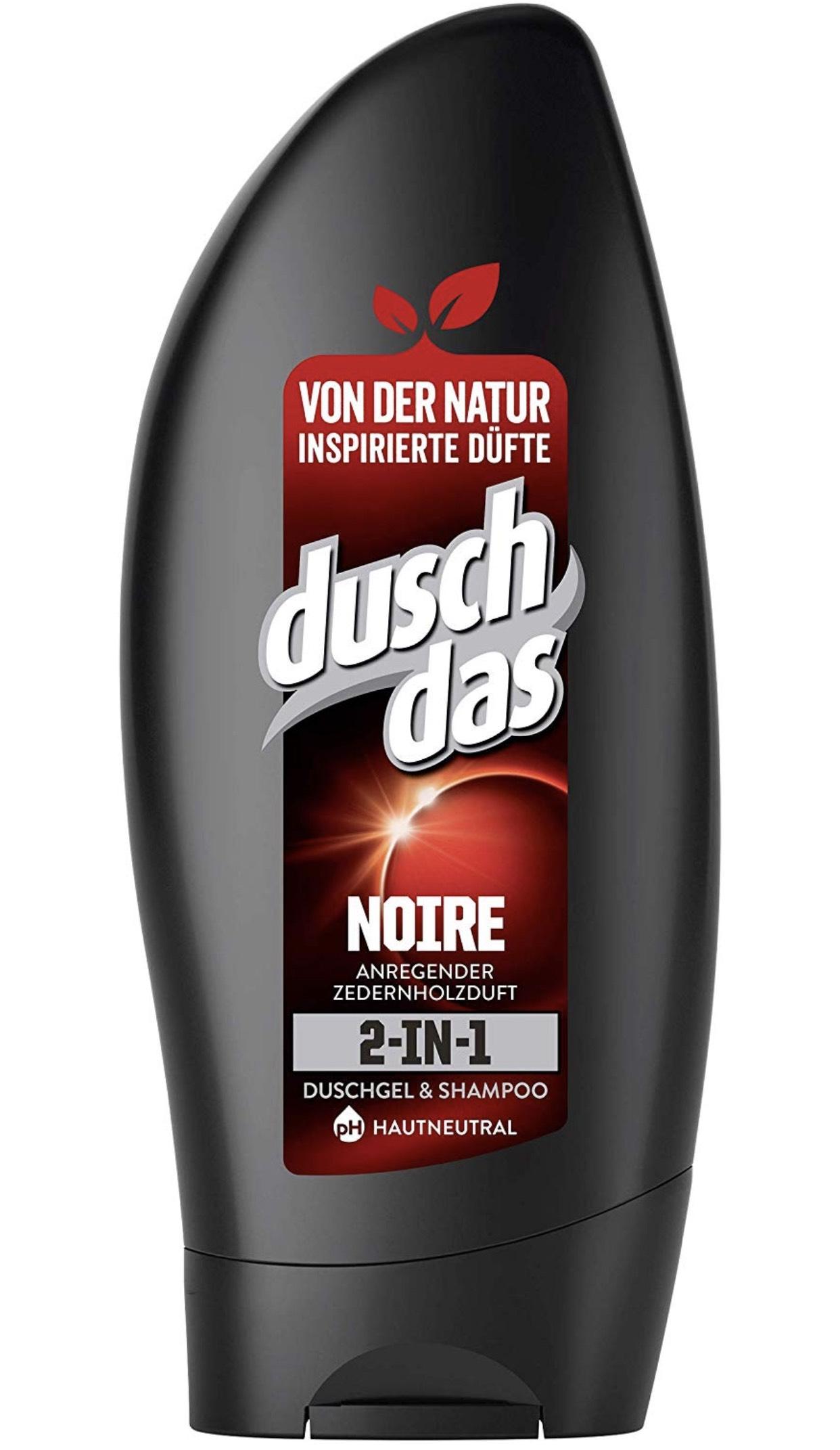 Duschdas For Men Duschgel Noire, 6er Pack im Spar-Abo