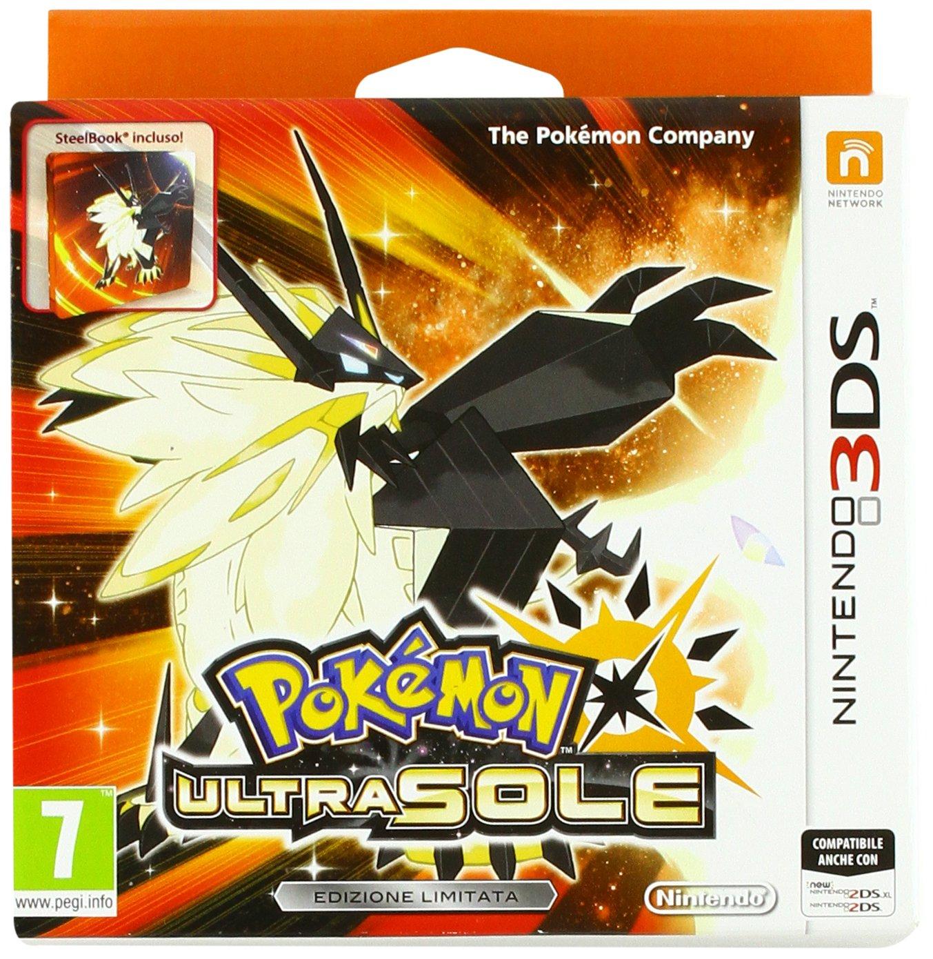 Pokemon Ultra Sonne Steelbook Edition