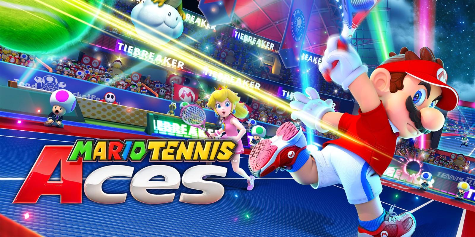 Mario Tennis Aces für Nintendo Switch eine Woche lang kostenlos Probe spielen