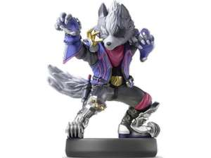 Nintendo amiibo Figur Super Smash Bros. Collection Wolf (Switch/WiiU/3DS) um 4,- inkl. Versand statt 14.99 (Saturn.at)
