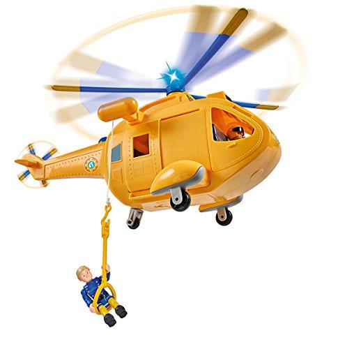 (Kleiner Preisjäger) Simba Toys Feuerwehrmann Sam Wallaby II mit Figur