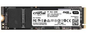 Crucial P1 CT500P1SSD8 500GB Interne SSD (3D NAND, NVMe, PCIe, M.2)