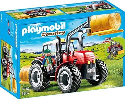 Playmobil - Riesentraktor mit Spezialwerkzeugen