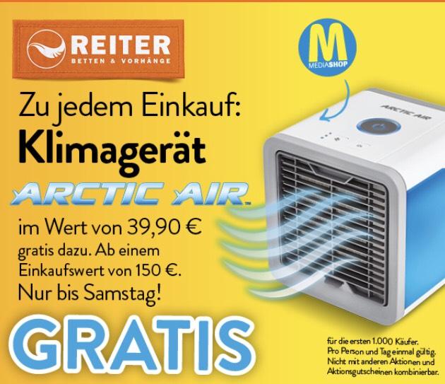 Gratis Klimagerät zu Bestellung ab 150 EUR