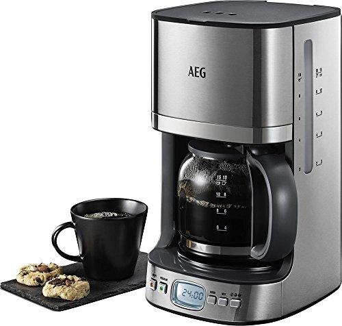 AEG Electrolux KF7600 Kaffeemaschine (Permanentfilter, Timer, Abschaltautomatik)