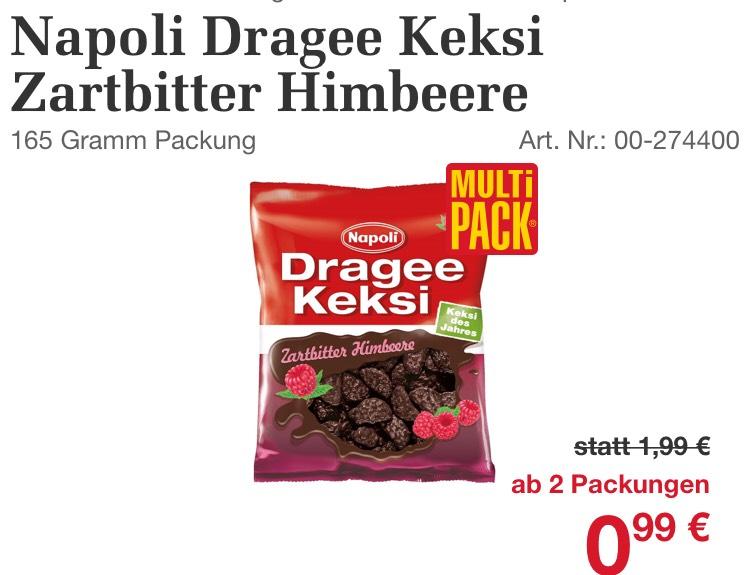 """1+1 Aktion bei Billa Dragee Keksi zartbitter Himbeer [auch die """"normalen Sorten""""]  (wenn ich nur aufhörn könnt)"""