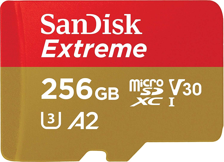 "SanDisk ""Extreme"" microSDXC (256GB, R160/W90)"