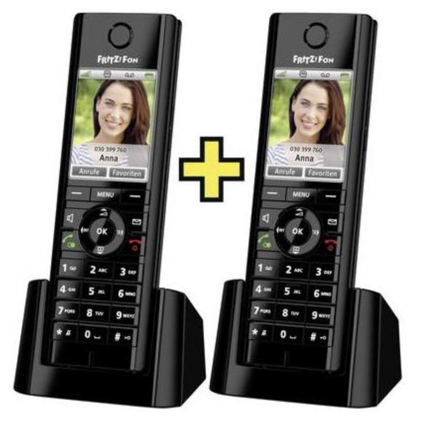 AVM FRITZ!Fon C5 Duo Set 2x DECT-Telefon für 89,99€ inkl. Versandkosten